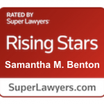 Samantha Benton Super Lawyers